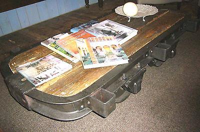 loft Lore Grubenlore Ladeneinrichtung Anrichte Loftmöbel Couchtisch Tisch