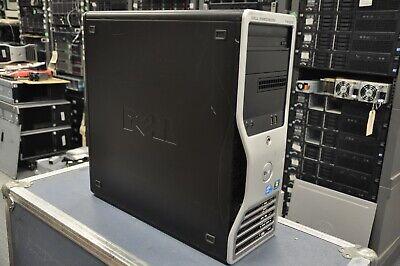 DELL T5500 2x Intel E5645 2.40Ghz 6-Core XEON 1TB Hard Drive Win10 Pro installed