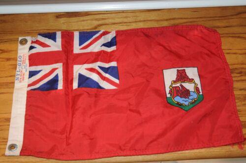Vintage  Nautical Boating Signal Flag, Nylon Annin & Co. Ny Glo  Maritime Flag.,
