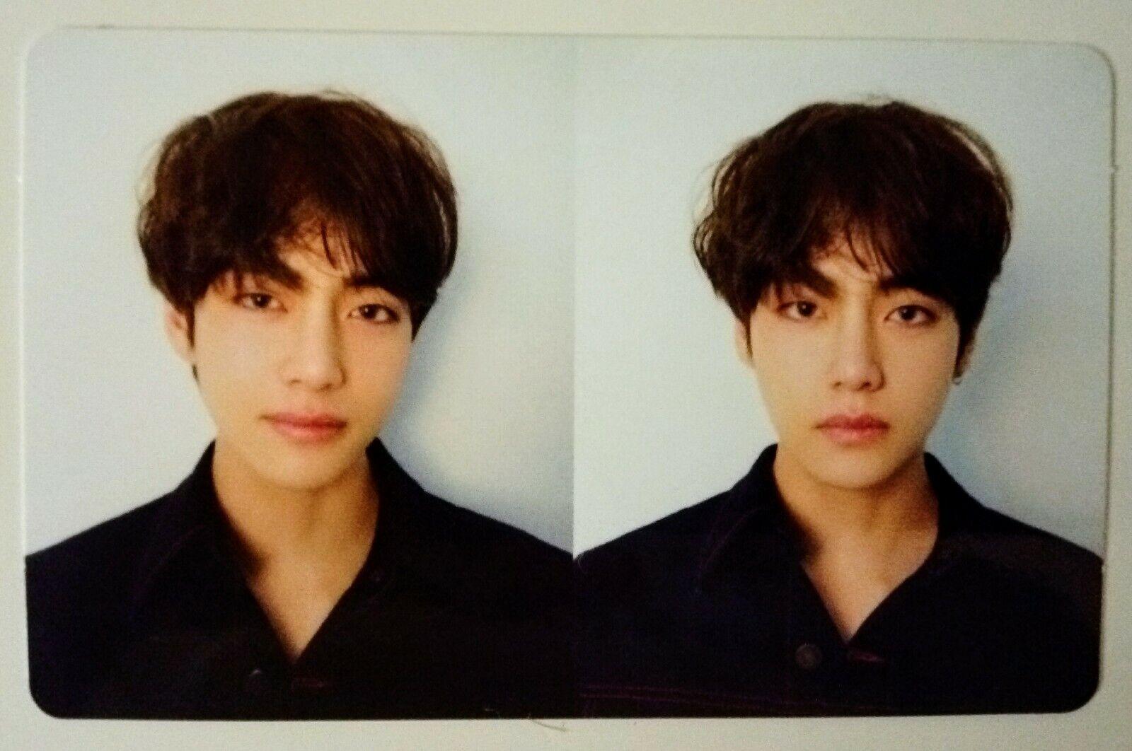 BTS Official V SUGA JIN JUNGKOOK RM photocard Wings Love Yourself Tear US seller V (LY Tear R Ver PC)