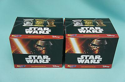 Disney Star Wars Abatons 2 x Display / 60 Booster  Figuren Neu & OVP Panini