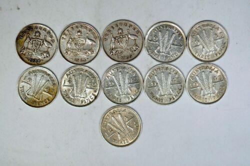 (11) Australia 3 Pence AU-UNC  K5569