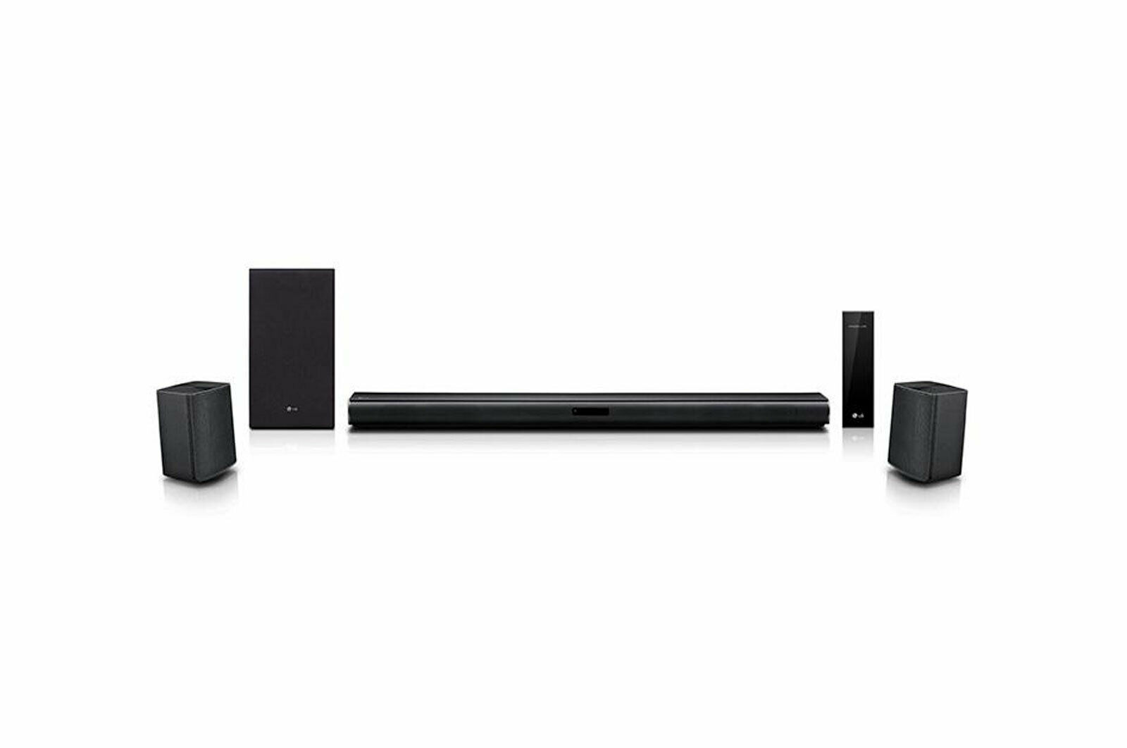 LG SJ4R 4.1 ch Sound Bar Surround System with Wireless Surround Sound Speakers