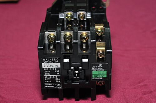 Togami electric clk 25h p4 magnetic contactor