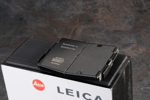 ^Leica SOOFM 50mm Summicron Summitar Lens Hood Shade