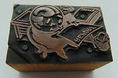 Printing Letterpress Printers Block Man Desk Reading Report