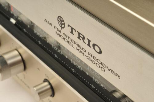 Trio KR 2600 Stereo Receiver