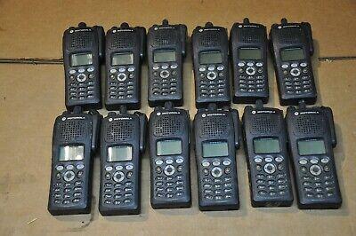 Motorola XTS2500 Part Number H46QDH9PW7BN Lot of 12  (380-470MHz)