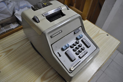 """ADDO-X "" VINTAGE DESKTOP MECHANICAL CALCULATOR MADE IN SWEDEN WORKING"