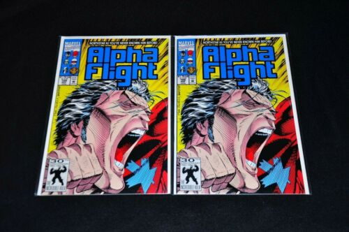 Alpha Flight 106 Scarce 2nd Print Lot of 2 NM HIGH GRADE Copies Northstar 1992