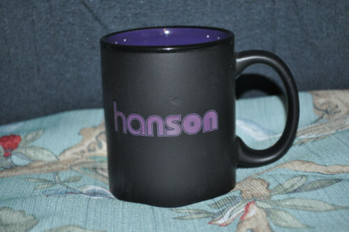 RARE BRAND NEW OFFICIAL Hanson Purple Mug!
