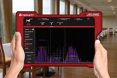 New Triplett Wifi Hound 2.4ghz 5ghz Wireless Network Spectrum Analyzer