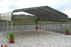 6170mm W x 6000mm L x 2800mm Apex Transportable Shade Shed Toukley Wyong Area Preview