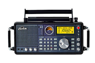 TECSUN S2000 PLL Dual Conversion AM/FM MW LW SW SSB Aircraft Band Radio Receiver