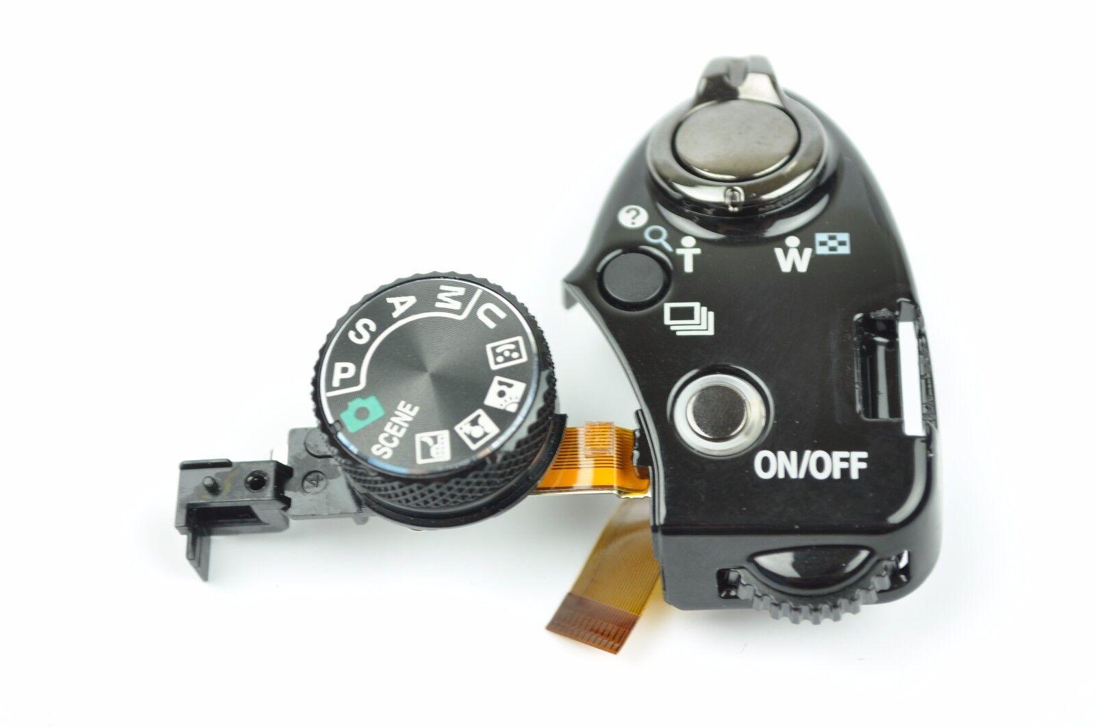 Nikon Coolpix P500 Top Cover Mode Dial With Flex Repair P...