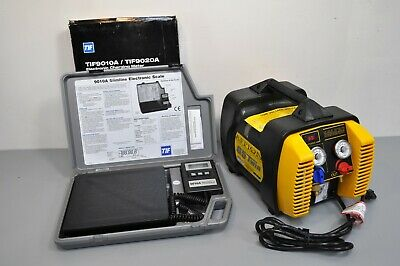 Appion G5 Twin Refrigerant Recovery Machine Unit Tif9010a Charging Scale Hvac