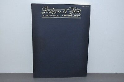 Rodgers and Hart - A Musical Anthology Piano/Vocal Sheet Music Paperback –1984