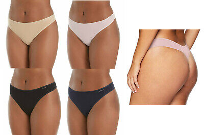 Calvin Klein Womens Plus Size Form Stretch Thong Panty, Assorted Colors Calvin Klein Womens Thongs