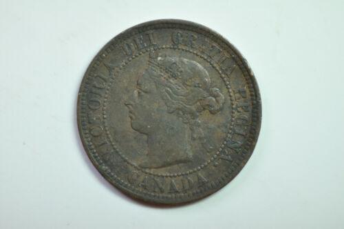 mw14214 Canada; Cent 1891  Victoria  KM#7