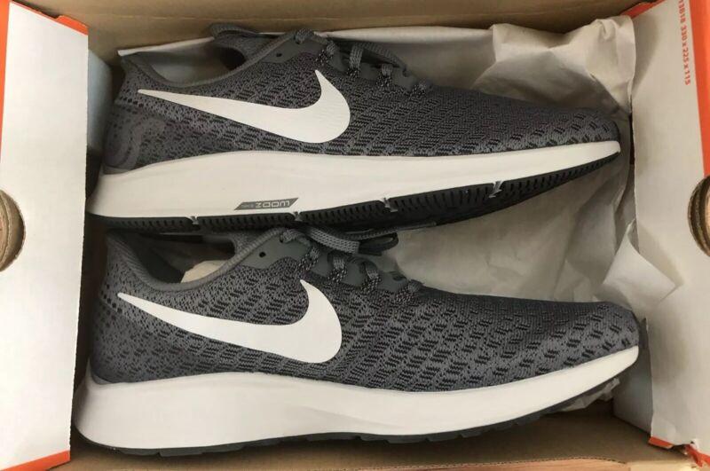 5a4d72b18ad68 Nike Air Zoom Pegasus 35 Cool Grey White Men Running Shoes Sneakers 942851- 005