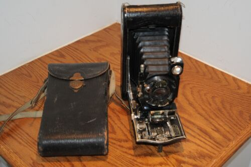 3a Autographic Kodak Special Model B Kodamatic Vintage Folding Camera Photograph