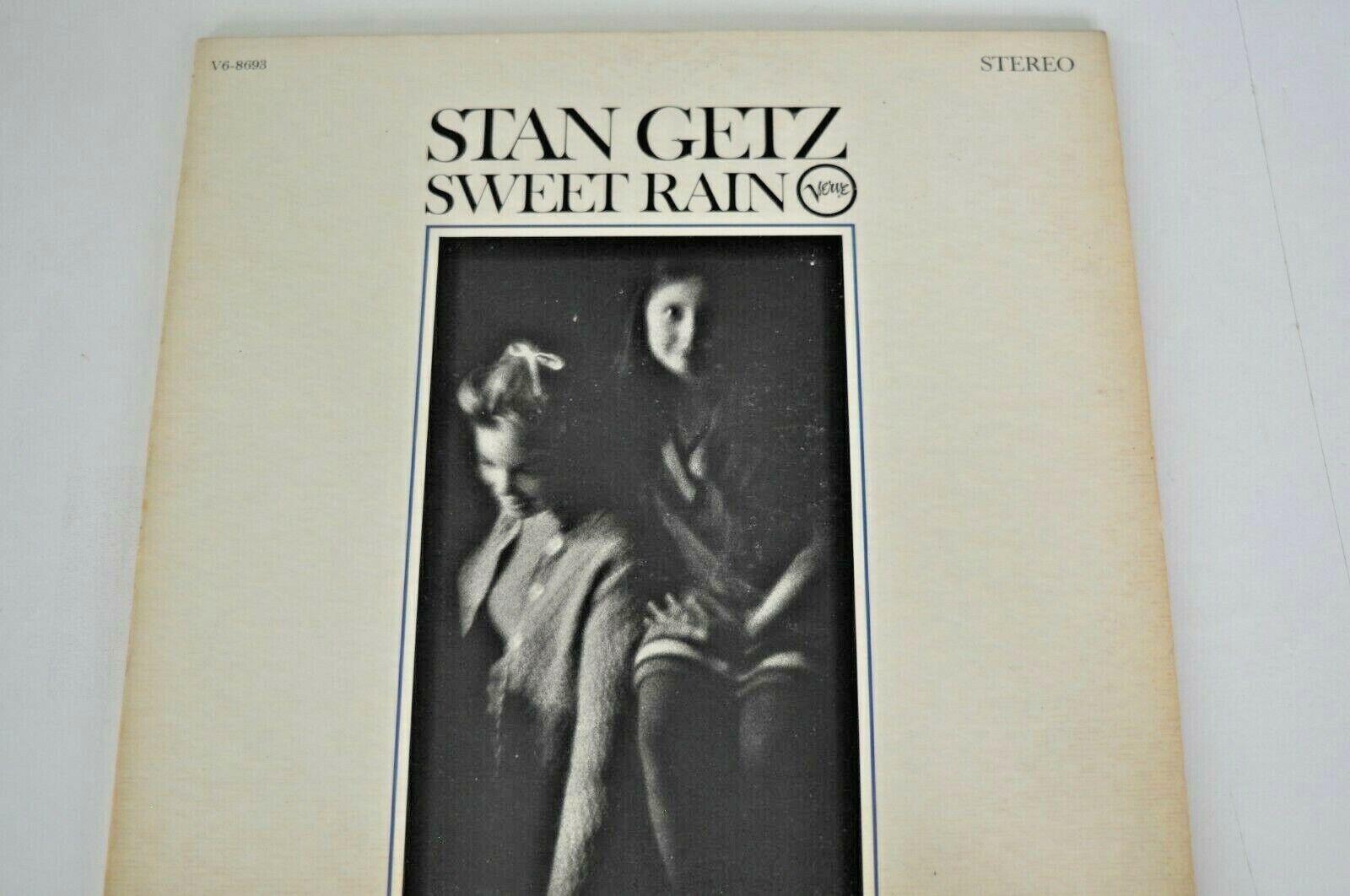 SWEET RAIN BY STAN GETZ ON GATEFOLD VERVE RECORDS  - $9.99