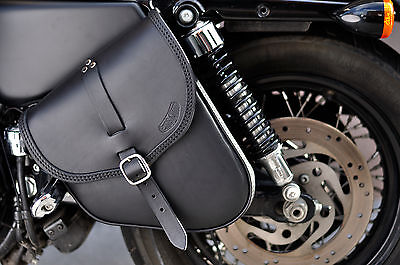 SADDLE BAG HARLEY DAVIDSON  SPORTSTER MODELS 48, 72 iron best  ITALIAN  QUALITY
