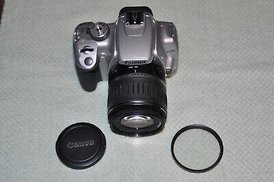 Canon EOS Rebel XTi (EOS 400) 10.1MP DSLR Camera w/EFS 18-55mm f3.5-5.6 Lens