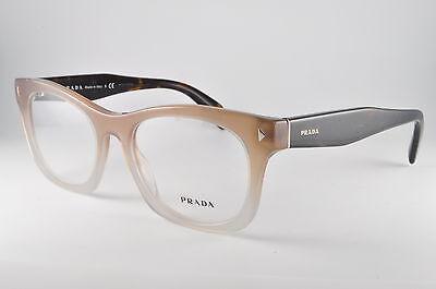 Prada Eyeglasses VPR 11S UBJ-1O1 Tortoise, Size 53-19-140