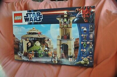 Lego Star Wars Jabba's Palace 9516 NEW Selling My Collection Carbonite Han Solo