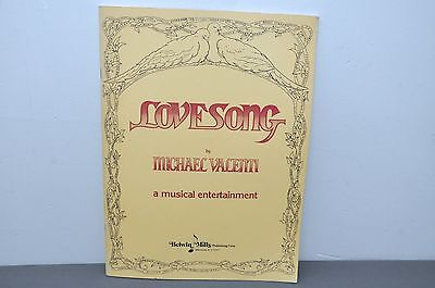 LOVESONG - ON STAGE - 1979 Paperback Vocal Selections Rare!!