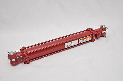 2.5 Bore X 16 Stroke Hydraulic Tie Rod Cylinder 2500 Psi 38 Npt Ports