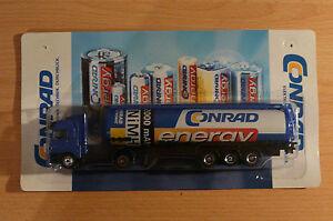 Modellino-autocarro-per-birra-Rimorchio-trasporto-BENZ-ACTROS-Conrad-ENERGY-HS-8