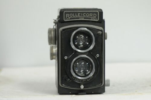 Rolleicord II-C with Triotar Lens