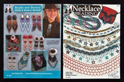 Lot 2 Suzanne Mcneill Beading Books Necklace Beading Beads And Stones