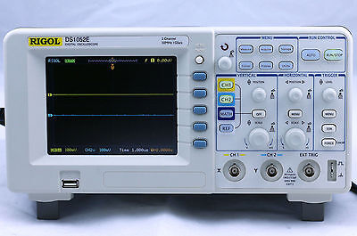New Rigol Ds1052e Digital Oscilloscope 50mhz 1 Gsas 2 Channels Plus Usb Storage