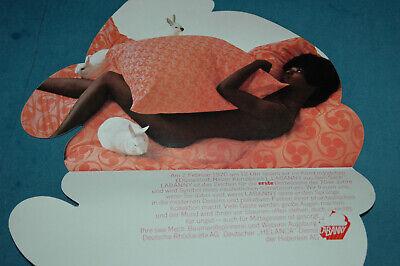 Vintage Werbe Faltblatt LABANNY TAUFE - 1970s Bettwäsche - Werbung gebraucht kaufen  Kißlegg