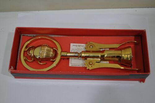 Vintage Italian Gold Plated Scarab Beetle Corkscrew, ACC CROM