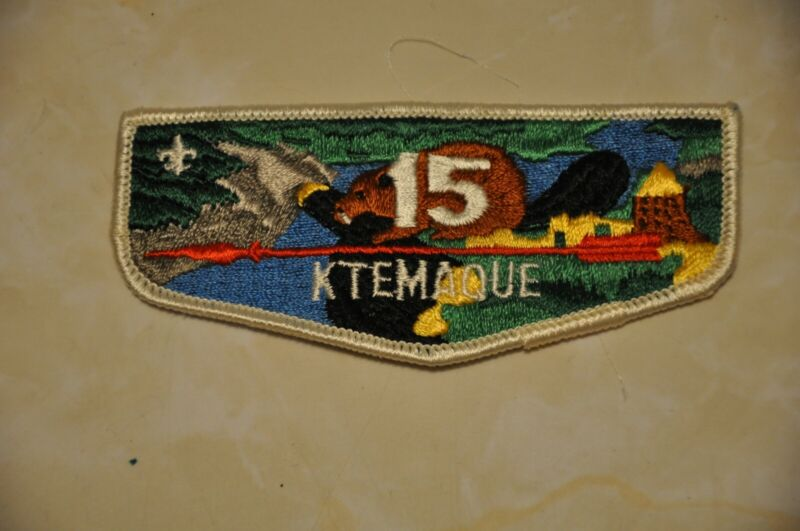 Boy Scouts Order of the Arrow Ktemaque Lodge Flap from 1979