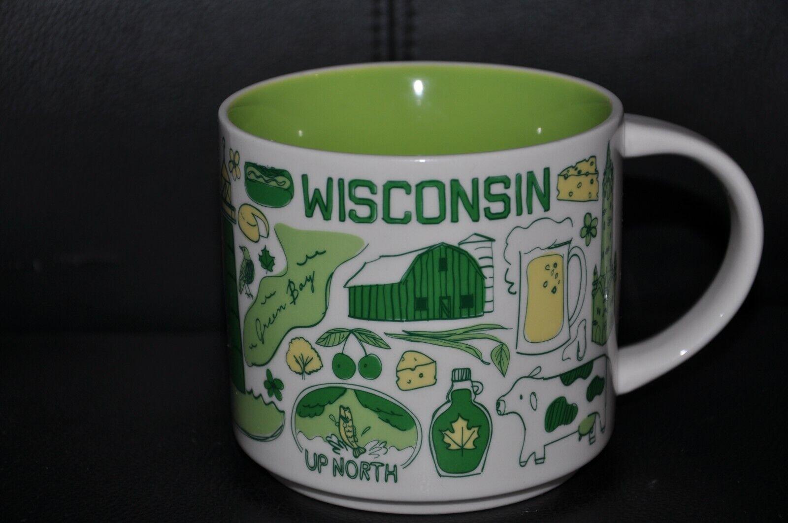 Starbucks TasseBeen There Series BWA 19 Wisconsin USA unbenutzt 2019