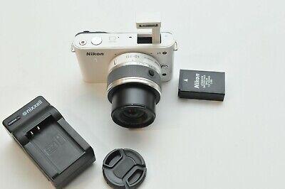 Nikon 1 J1 HD Digital Camera System with 10-30mm Lens White