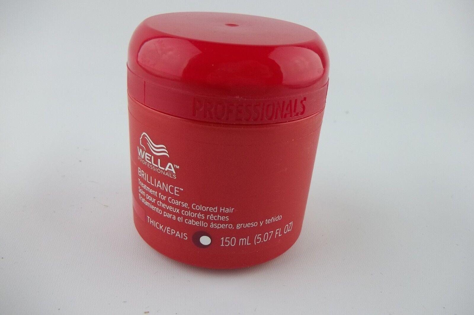 Wella Coarse Colored Hair Brilliance Treatment for Unisex, 5