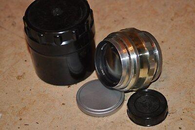 Lens portrait JUPITER 9 (white) 2/85 M39/42  Russian USSR № 6701669..  online kaufen