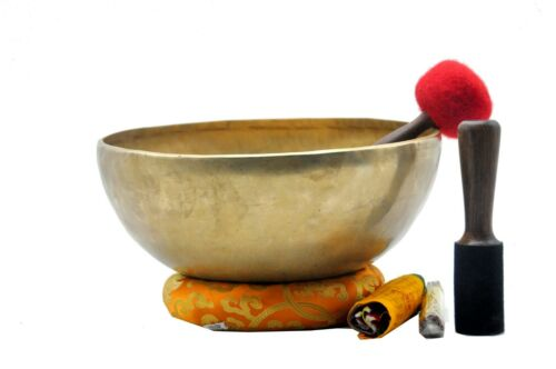 12 inches large Handmade singing bowl from Nepal-Tibetan singing bowl-yoga-Nepal