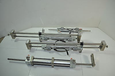 Phd Pneumatic Cylinder Rod W Reed Switches Davr 34 X 7 516 Stroke Huge Lot