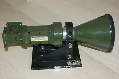 Dual Port X Band Circular Satellite Feed Wr112 Era Technology 7-10 Ghz