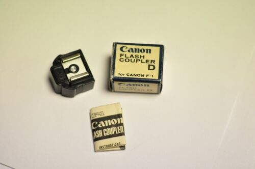 Canon flash coupler D for their model F-1