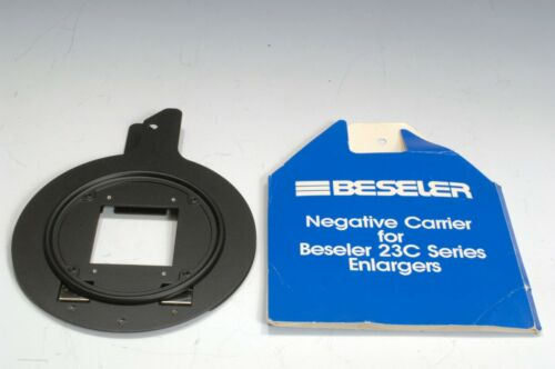 Beseler 6x6cm Glassless Negative Carrier for 23C Series Enlargers #8060 New