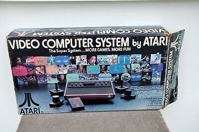 Boxed Atari 2600 Woody Console + Games