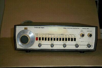 Wavetek Model 182a 4mhz Function Generator